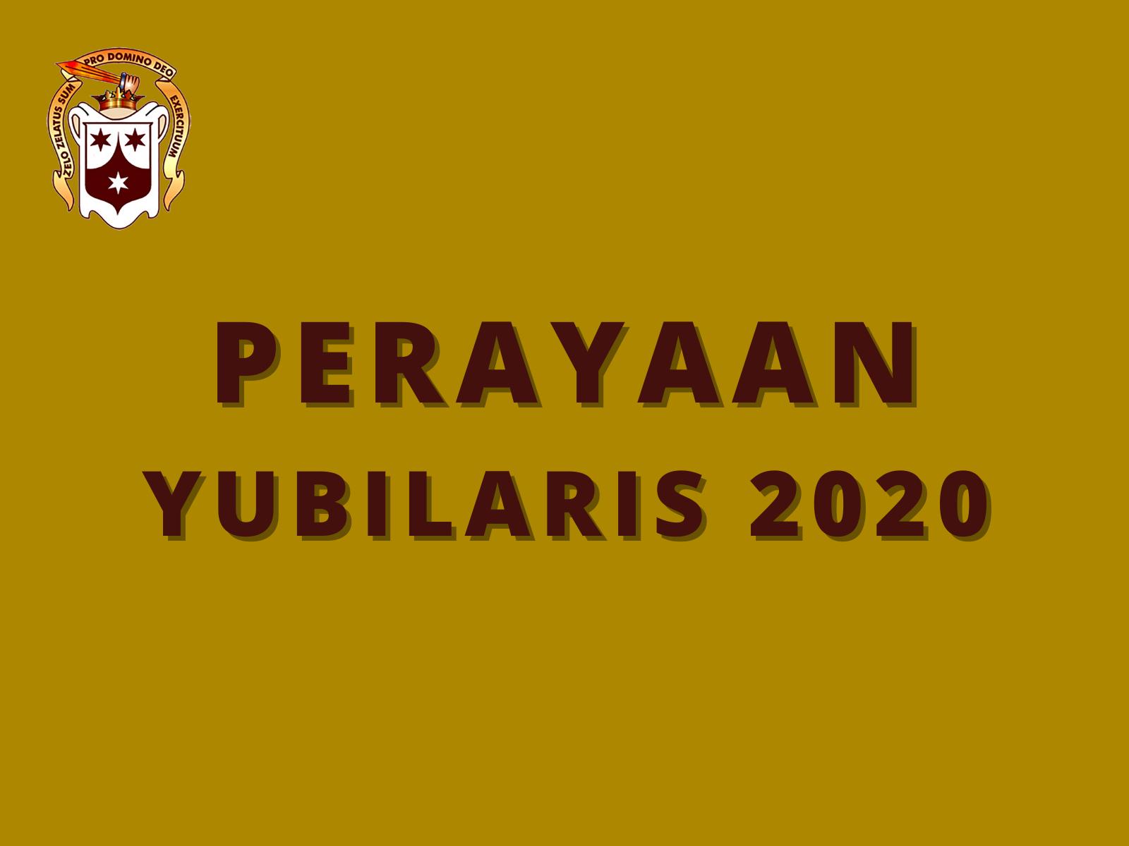 Perayaan Yubilaris 2020