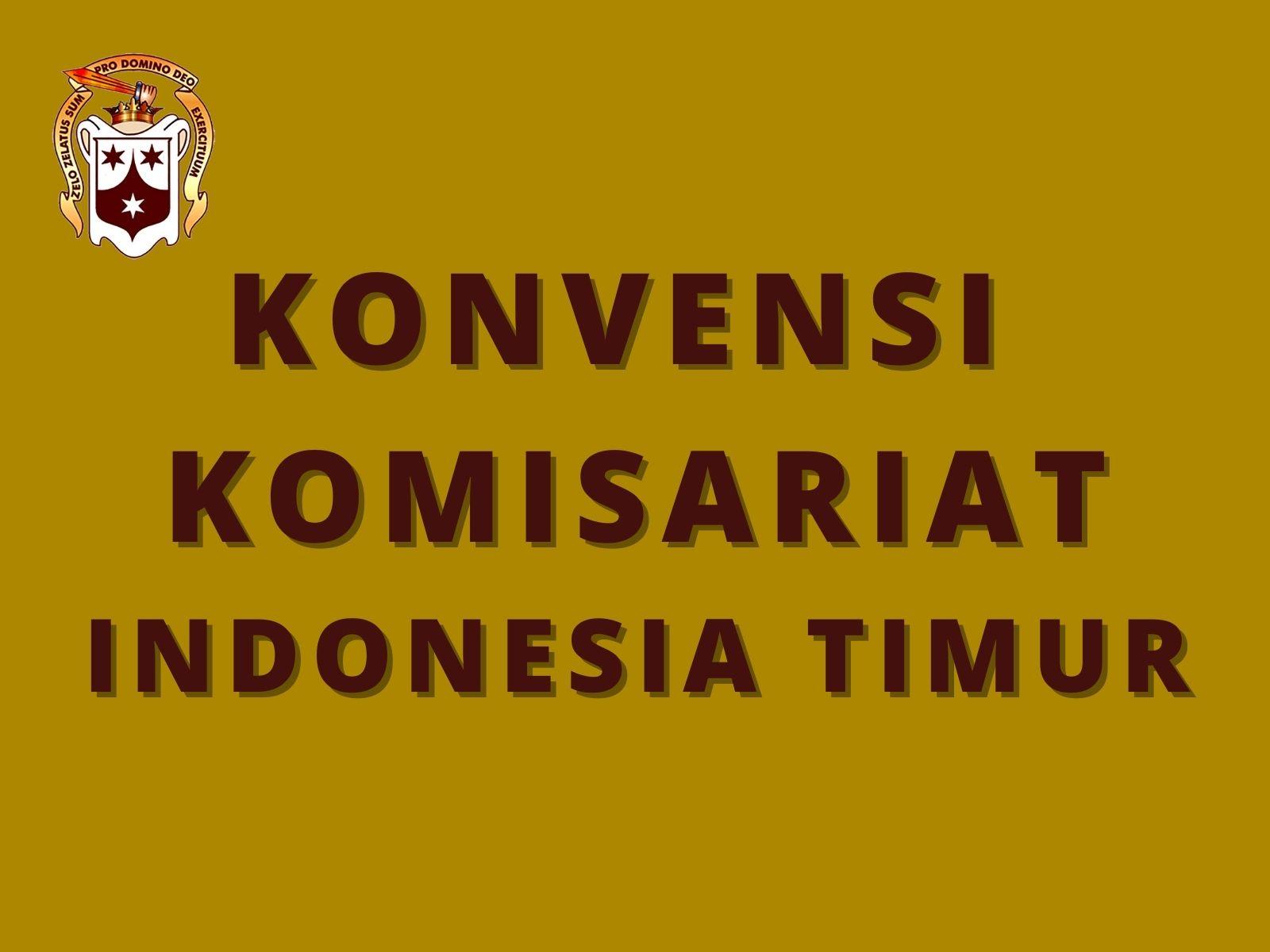 Konvensi Komisariat Indonesia Timur