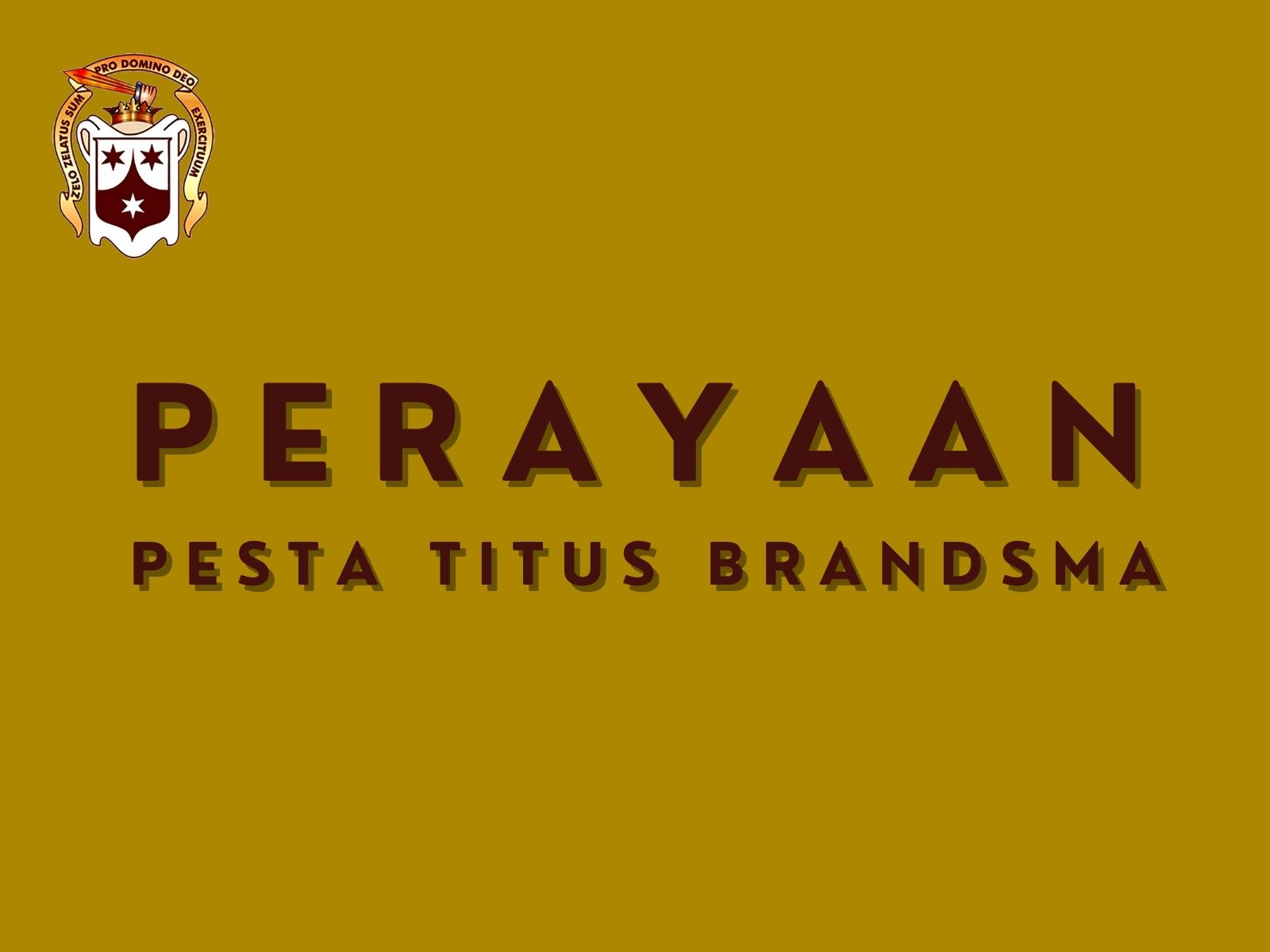 Perayaan Pesta Beato Titus Brandsma